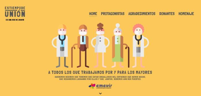 Amavir pone en valor el compromiso del sector frente a la pandemia de coronavirus en su campaña